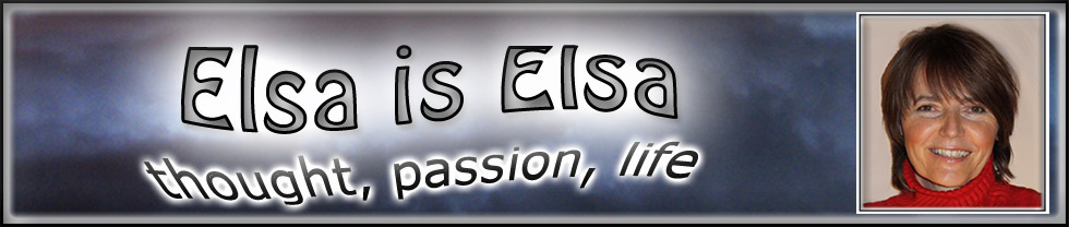 banner - Elsa is Elsa - thought, passion, life